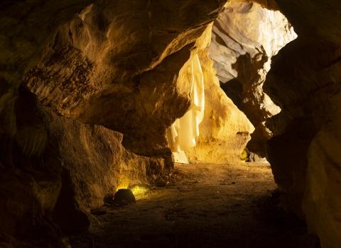 Visite de la grotte